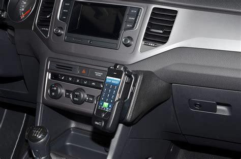 golf 7 handyhalterung vw golf sportsvan konsolen zur befestigung handy smartphone oder navi kuda lieferbar