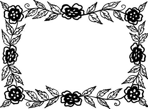 Free svg designs | download free svg files for your own. 9 Rectangle Flower Frame Vector (PNG Transparent, SVG) Vol ...