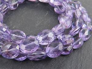 Light Pink Gemstones Aa Amethyst Faceted Oval Beads 9 10mm 8 Quot Strand