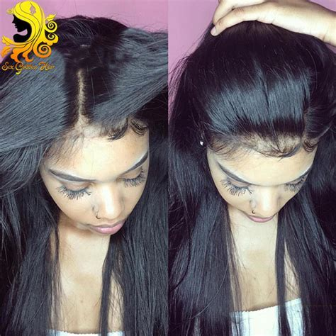 Aliexpress.com : Buy Silk Top Full Lace Wigs Baby Hair