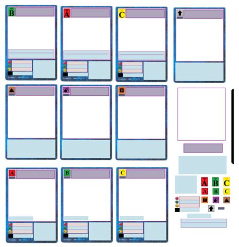 photo card maker templates custom card template trading cards templates free