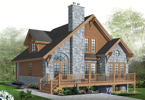 daylight basement homes country house plan with 3 bedrooms and 2 5 baths plan 1142