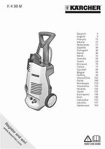Karcher K 4 98 M Tools Download Manual For Free Now