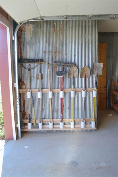 Garage Storage Ideas Garden Tools by 34 Garage Organization Ideas