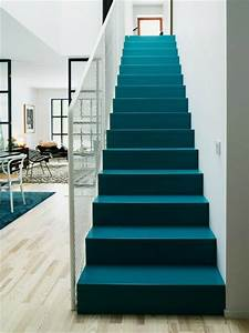 Treppen Teppich Modern : der perfekte treppen teppich 30 prima modelle ~ Watch28wear.com Haus und Dekorationen