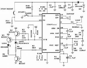 mic recorder circuit repository nextgr With with mic wiring diagram wouxun microphone wiring diagram digital voice