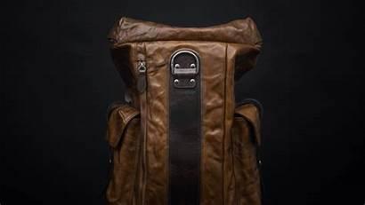 Backpack Phantom Backpacks Plate Panel Leather Naturally