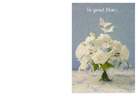 carte de voeux pour mariage à imprimer carte imprimer remerciement mariage pour exprimer