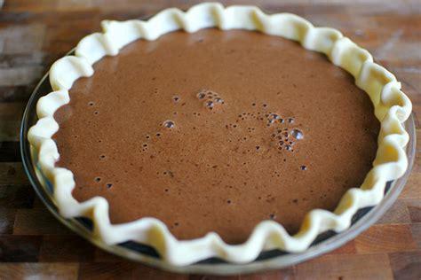 recipe for easy chocolate pie easy chocolate pie tasty kitchen blog