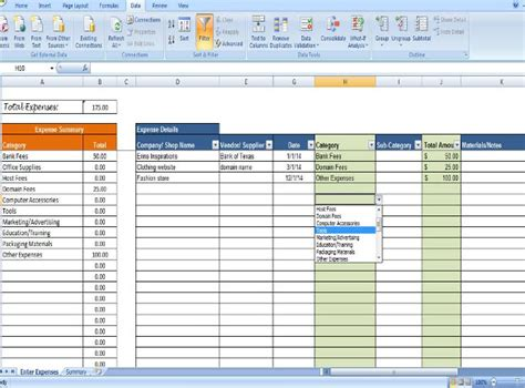 Business Expense Tracking Form by Expense Tracking Template 18 Free Word Excel Pdf
