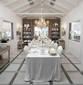 idee decoration salle a manger salle a manger shabby chic With idee decoration salle a manger