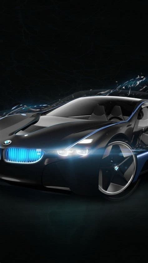 Bmw Concept Car Black Wallpaper Free Iphone Wallpapers