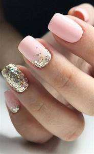 40 and beautiful glitter nail designs ideas for