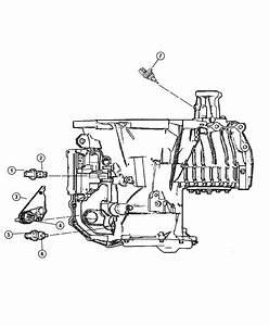 Jeep Grand Cherokee Sensor  Transmission Range   Super Track Pak   Awd  Fwd