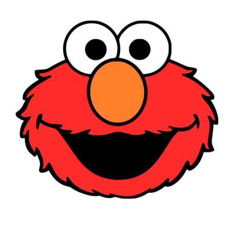 Printable Elmo Cake Template by Crafting With Meek Elmo S Svg Silhouette