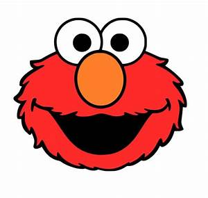 crafting with meek elmo39s face svg silhouette With elmo template for cake