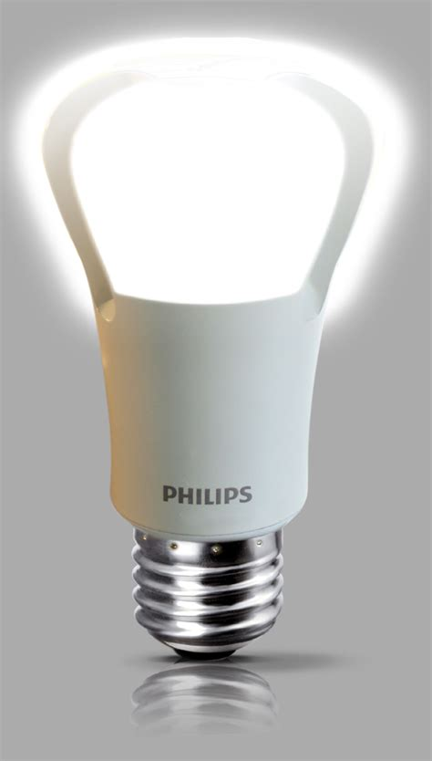philips switches on bright led bulb cnet