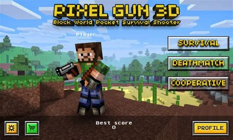 pixel gun  brings minecraft style shoot em