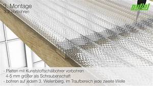 Wellplatten Verlegen Video : guttagliss acryl sz profilplatten verlegung mit kalotten ~ Articles-book.com Haus und Dekorationen
