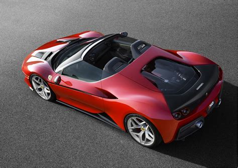 Ferrari Car : World Premiere Of The Ferrari J50