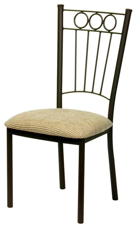 charles dining chair in wrought iron trica aspen quarry
