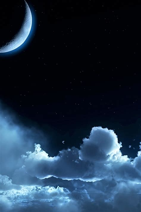 half moon iphone scenery iphone 4 wallpapers backgrounds pictures photos 10755