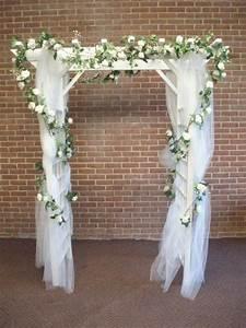 Indoor wedding arch decorations all includive wedding for Decorating a trellis for a wedding