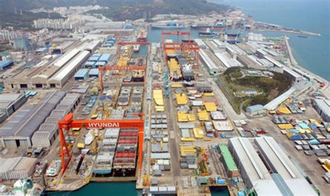hyundai heavy shareholders approve restructuring plan