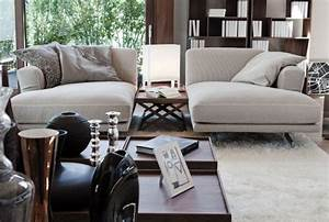 modern chaise with base in chromed aluminum and walnut With separating a sectional sofa