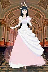 Naruto Hinata Wedding Dress