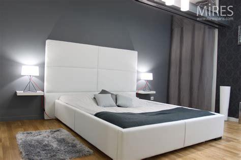 chambre ton gris photo décoration chambre gris