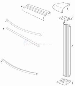 Reprieve  U0026 Concord 30 U0026 39  Round 48 U0026quot  Wall  Steel Top Rail