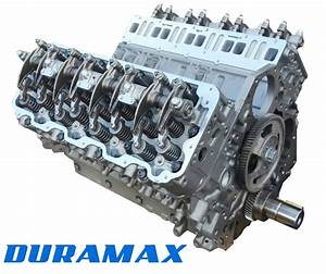 Gm 6 6l Duramax Lly Remanufactured Long Block