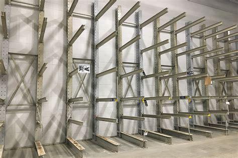 structural super heavy duty cantilever rack american surplus