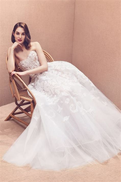 oscar de la renta spring  bridal collection  dream