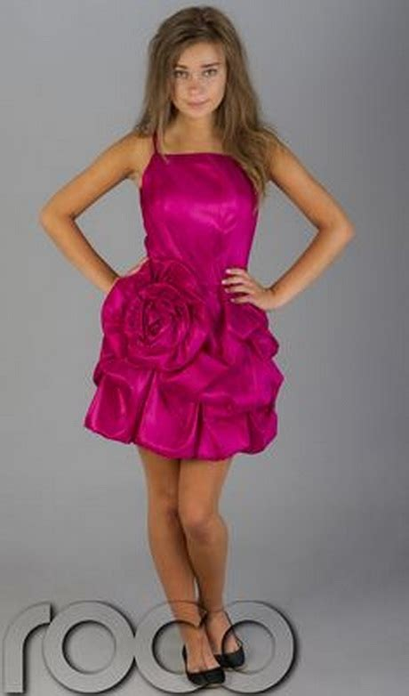 pink party dresses  teenagers