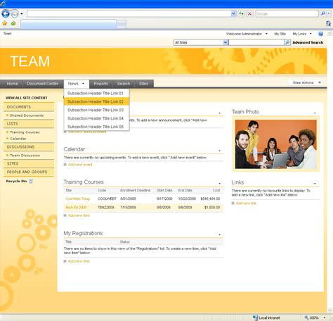 home design exles 1000 images about sharepoint on portal high 20