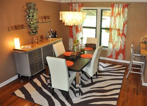 dining room curtain ideas curtain ideas brown and orange orange things ideas about