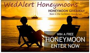 Win a free luxurious caribbean honeymoon wedding day for Win a free honeymoon