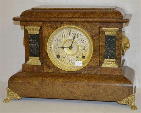 2 Antique Black Mantel Clocks, Seth Thomas Price & Value Guide