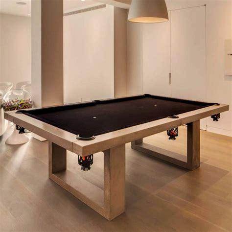 room pool table concrete pool table by de wulf 187 petagadget 3731