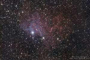 IC405 Flaming Star Nebula - VisibleDark