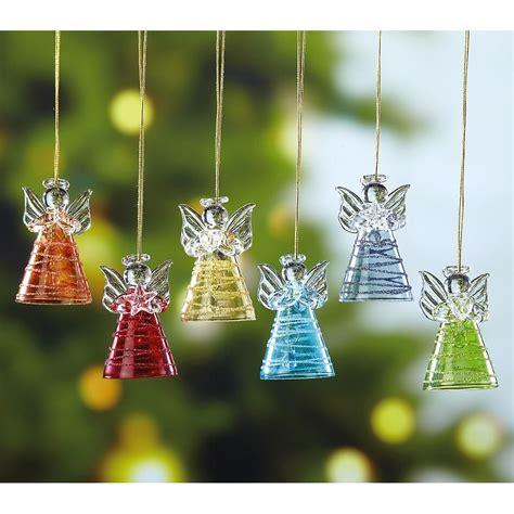 Glass Angel Ornaments  Current Catalog