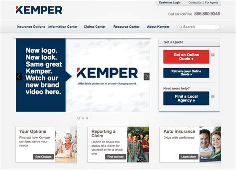 Benefits distributed through kemper life and health are provided by reserve national insurance company. Kemper Announces Brand Refresh