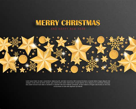 Browse our merry christmas images, graphics, and designs 1000 merry christmas free vectors on ai, svg, eps or cdr. Merry Christmas and Happy new year greeting card luxury in ...