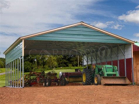30x36 vertical roof triple wide metal carport carport1 free installation and delivery