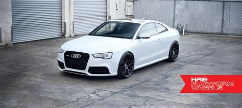 Audi Rs5 With Hre Ff01 Alloy Wheels In Black