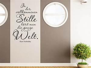 Streifen An Die Wand Malen Beispiele : wandtattoo in der vollkommenen stille h rt man wandtattoo de ~ Markanthonyermac.com Haus und Dekorationen