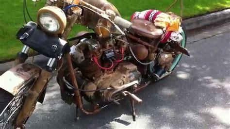 Rusty Harley Davidson Xlch Liberty Sportster New Skool