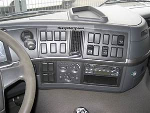 Volvo Fm 300 Flatbed With Crane Radio Remote Control 2003